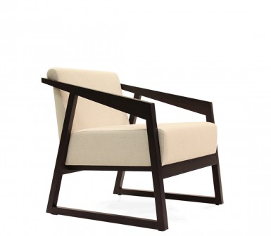 Wing Lounge Chair Side