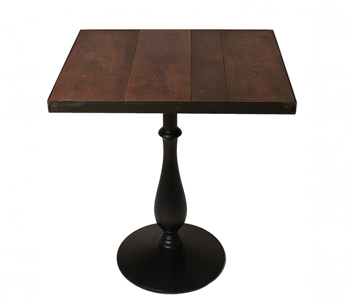 Re claimed metal rimmed polperro table top style matters for Decor matters