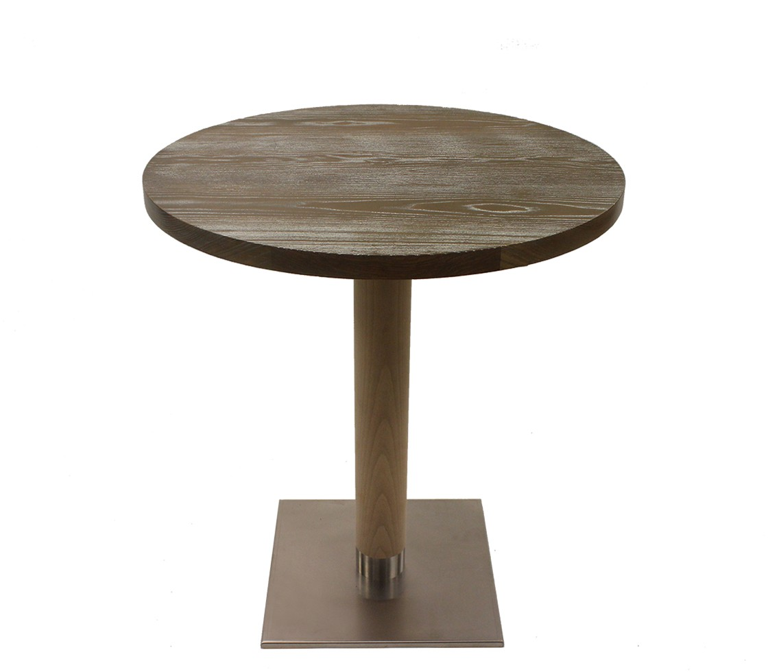 Solid oak grey washed table top style matters for Decor matters