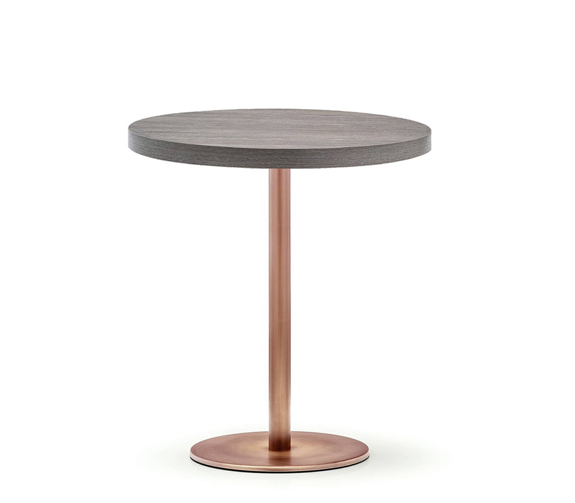 Antique copper table base style matters for Table y copper