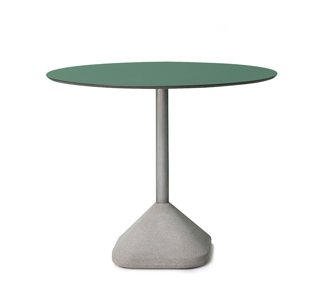 Concrete dining table base style matters for Dining table base