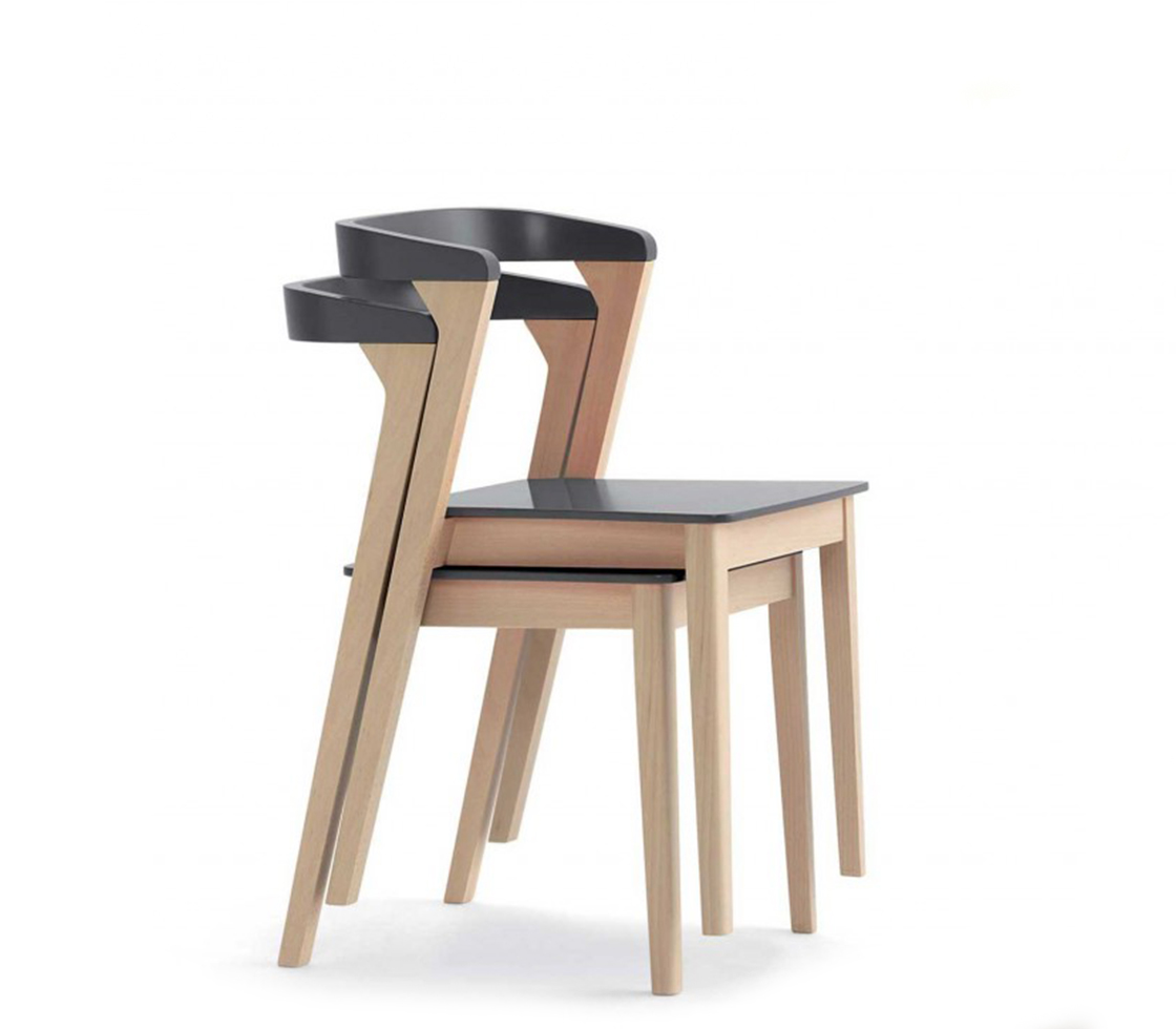 Luna stackable dining chair style matters for Stackable dining room chairs