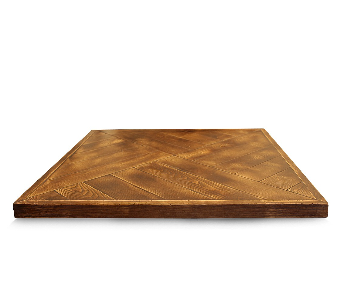 walnut parquet table top style matters With parquet top