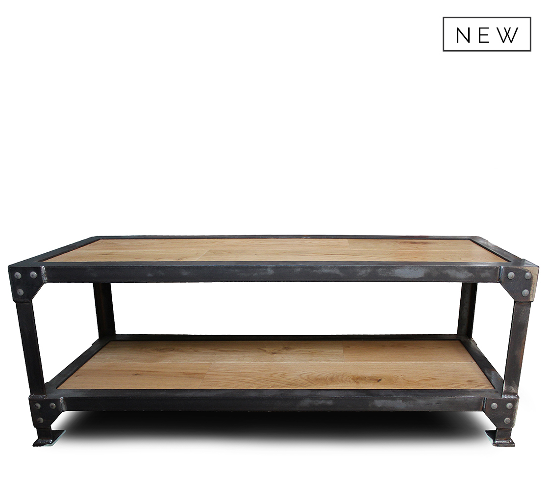 Industrial Coffee Table Style Matters