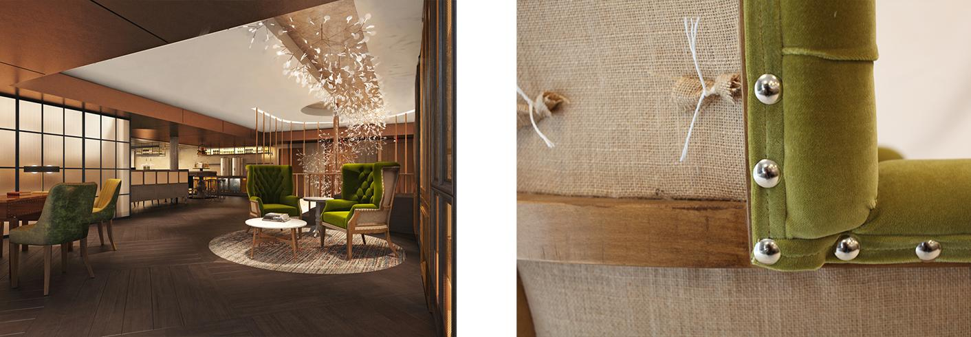 Style Matters - New Vintry and Mercer Luxury Hotel - Lobby Chair