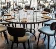 Cunard Dining Table in situ 1