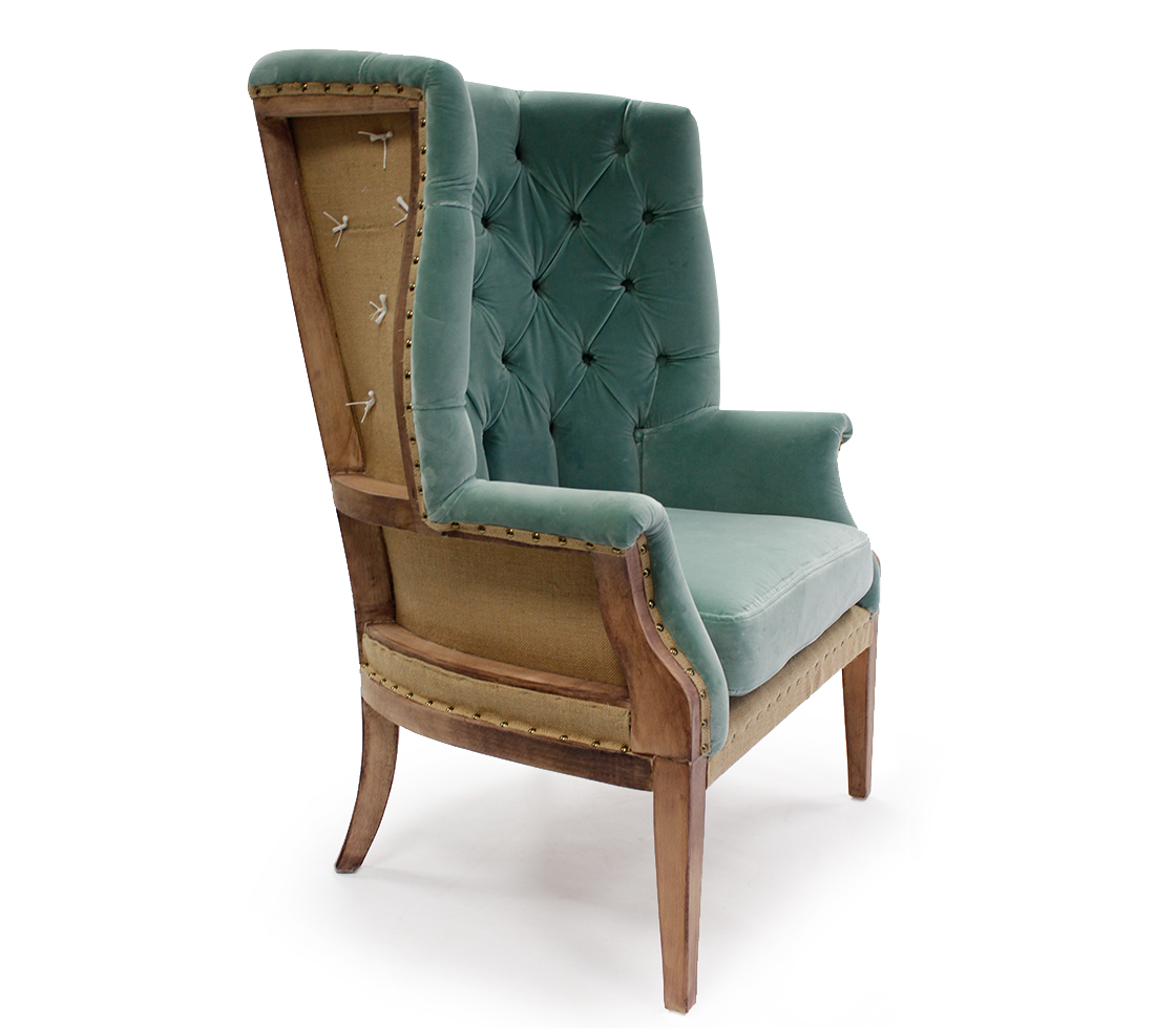 Canvas C Gainsborough Lounge Chair By Stylematters Style Matters