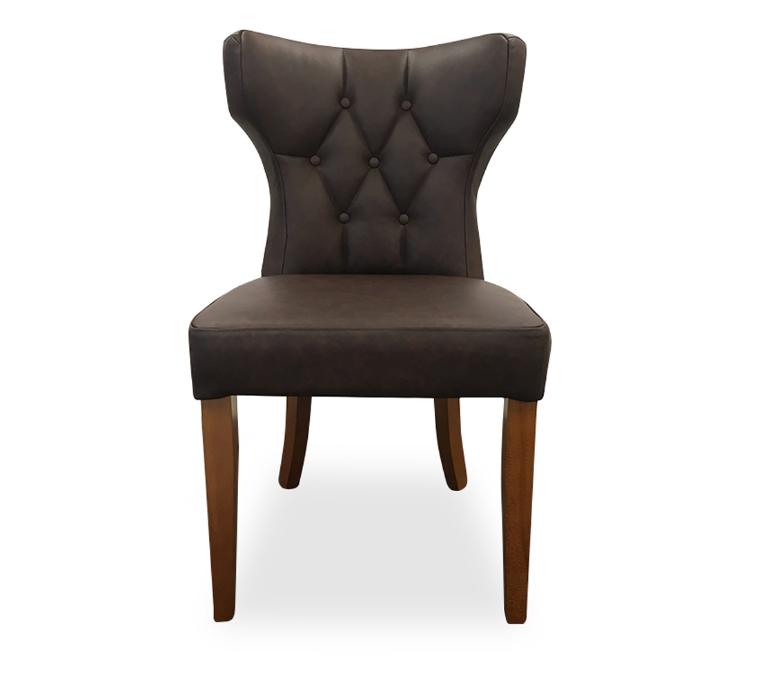 Mystique Button Back Dining Chair Front