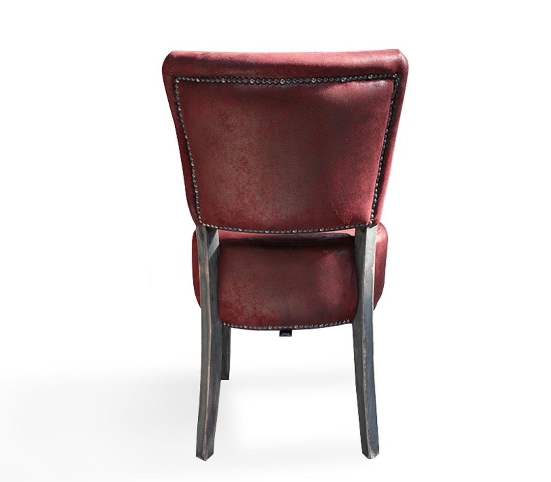 Oregon 4 Vintage Dining Chair Back