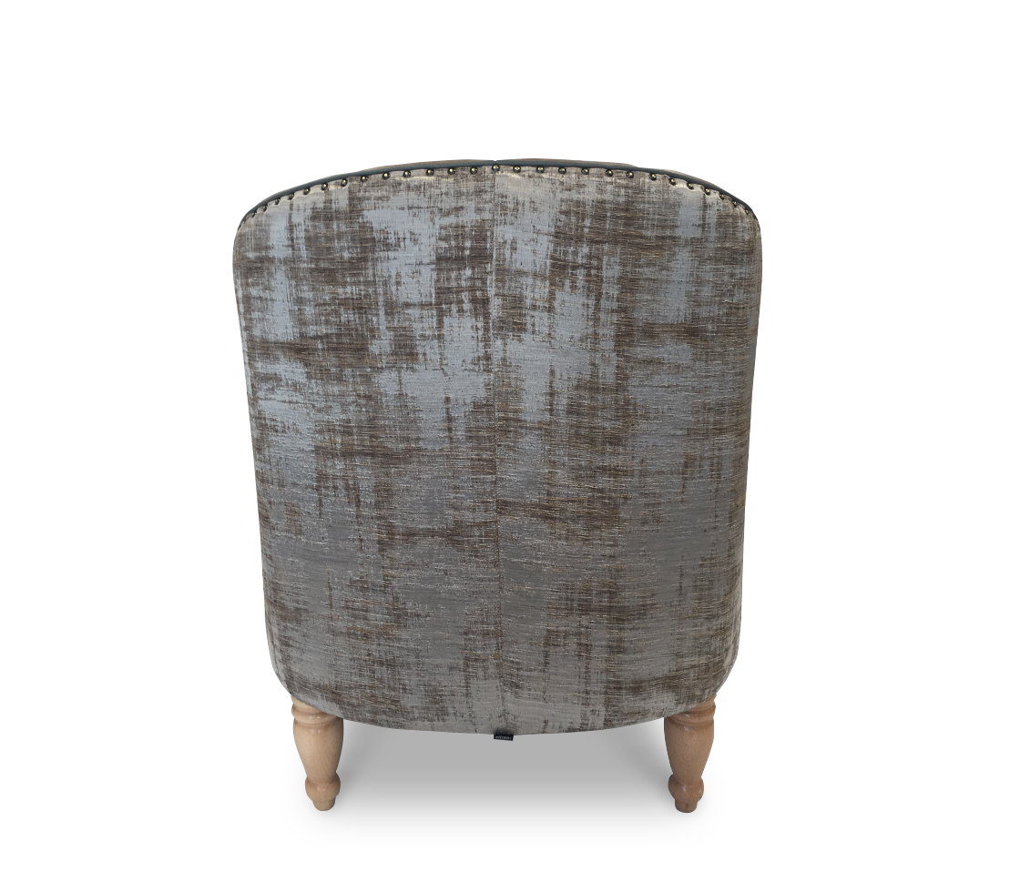 Scallop Lounge Chair Back
