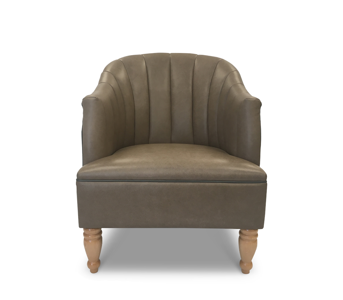 Scallop Lounge Chair Front