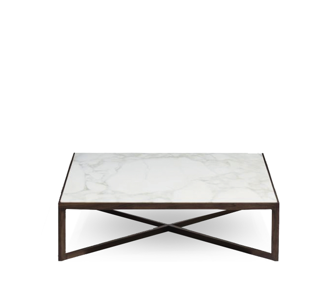 X Coffee Table Made In England By Stylematters Style Matters