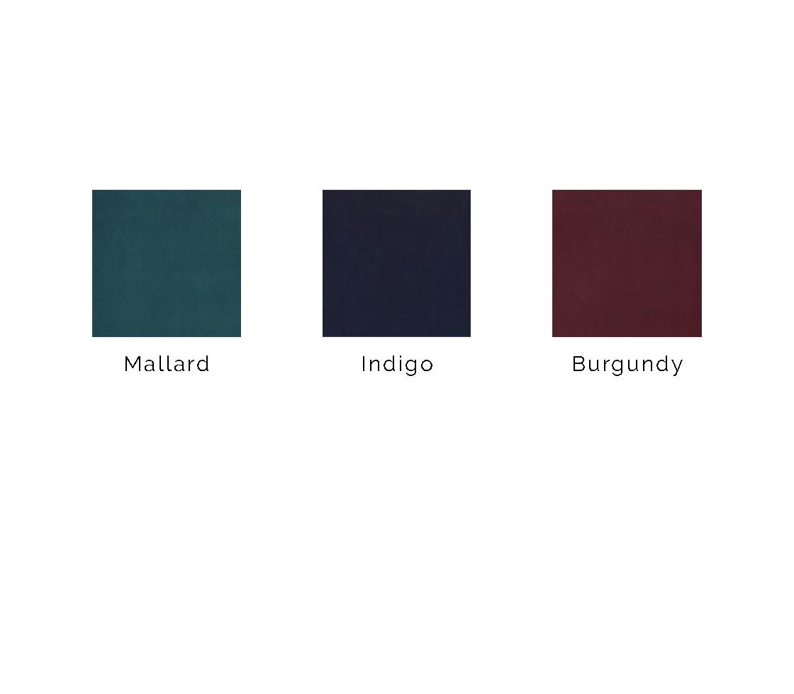 Colour of velvets
